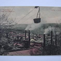 Carte postala Resita (Caras-Severin, Banat) RESICZA 1909 - Carte Postala Banat 1904-1918, Circulata, Printata