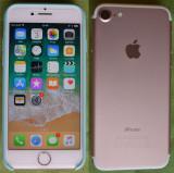 Iphone 7 128 GB ROSE GOLD 10/10 neverlocked - fullbox, Roz, 128GB