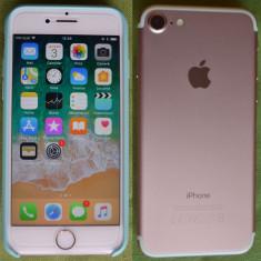 Iphone 7 128 GB ROSE GOLD 10/10 neverlocked - fullbox - Telefon iPhone Apple, Roz