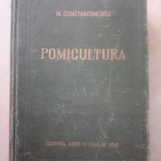 Pomicultura - N. CONSTANTINESCU , 1957