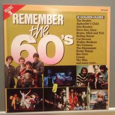 REMEMBER THE 60'S - Various Arists- 2LP SET (1983/POLYDOR/RFG) - Vinil/Impecabil - Muzica Pop