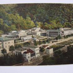 Carte postala Baile Herculane (Caras-Severin, Banat) circulata 1926 (2), Printata