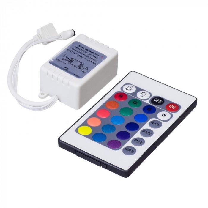 Controler RGB + telecomanda banda LED 3528 5050 /Controller SMD2835 (CL58)