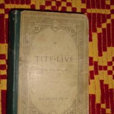 Titus Livius - De la fundarea Romei text latin / cartea 23,24,25 /524pag/an 1913