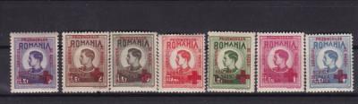 ROMANIA 1946  MIHAI  SERVICIUL  PRIZONIERILOR DE RAZBOI  SERIE  MNH foto
