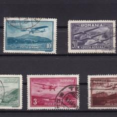 ROMANIA 1931 LP 94 VEDERI P. A. SERIE STAMPILATA - Timbre Romania