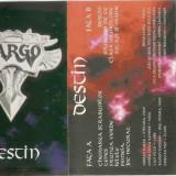 Vand caseta audio Cargo-Destin,originala,raritate, Casete audio