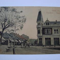 Carte postala Resita (Caras-Severin, Banat) RESICZA 1908 - Carte Postala Banat 1904-1918, Circulata, Printata