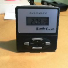 Ceas cu alarma Radio Controlled - Ceas desteptator