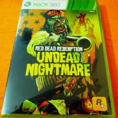 Red Dead Redemption Undead Nightmare, XBOX360, original, alte sute de jocuri! - Jocuri Xbox 360, Actiune, 18+, Single player