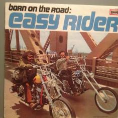 BORN ON HE ROAD: EASY RIDER -gen: Blues Rock (1971/EUROPA/W.Germany) - VINIL/NM - Muzica Blues Deutsche Grammophon