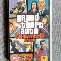 Joc PSP Grand Theft Auto Chinatown Wars cu manual si poster - Jocuri PSP Rockstar Games, 18+