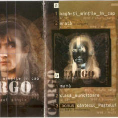 Vand caseta audio Cargo-Baga-ti Mintile In Cap, originala, raritate - Muzica Rock mediapro music, Casete audio