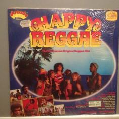 HAPPY REGGAE - Various Artists - 20 Hits (1980/ARCADE/RFG) - Vinil/Impecabil - Muzica Reggae Polygram