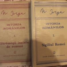 Nicolae Iorga, Istoria romanilor, volumul I Partea intai si partea a doua