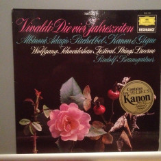 VIVALDI/ALBINIONI - The Four Seasons/Adagio (1966/DEUTSCHE GRAMMOPHON) - VINIL - Muzica Clasica