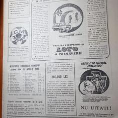 ziarul loto-prono 17 aprilie 1990