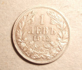 BULGARIA 1 LEVA 1912 ARGINT, Europa