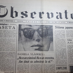 Ziarul observator 2 iulie 1990