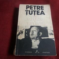 PETRE TUTEA - INTRE DUMNEZEU SI NEAMUL MEU - Carte Filosofie