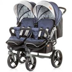 Carucior Gemeni Twix 2018 Jeans - Carucior copii 2 in 1 Chipolino