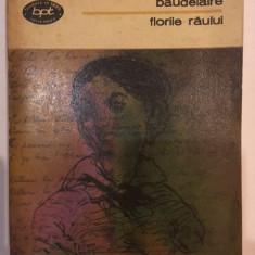 Charles Baudelaire, Florile raului