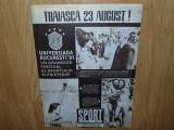 REVISTA SPORT NR:8 ANUL 1981  NADIA COMANECI