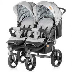 Carucior Gemeni Twix 2018 Ash - Carucior copii 2 in 1 Chipolino