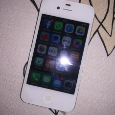 iPhone 4 Apple, ALB, 16 GB, IMPECABIL, Orange