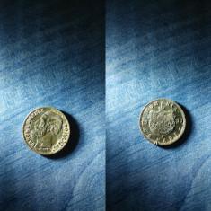 2 BANI 1879 CAROL I DOMNUL ROMANIEI necuratat! - Moneda Romania