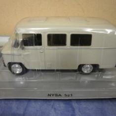 Macheta Nysa 521 - Masini de Legenda Polonia 1:43 - Macheta auto