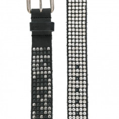 Curea DIESEL 50Mm Studded Leather Belt masura M L 90cm editie limitata - Curea Barbati Diesel, Culoare: Negru, curea si catarama