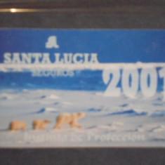 CARD RECLAMA- SANTA LUCIA SEGUROS 2001- INSTITUTO DE PROTECCION- ARGENTINA- - Cartela telefonica straina