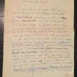 Scrisoare adresată lui Geo Bogza (1971)