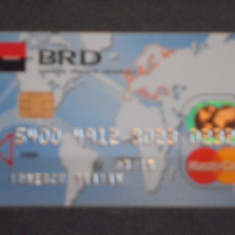 CARD BANCAR BRD MASTER CARD .