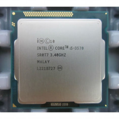 Procesor Intel Core i5 3570 3.4GHz 4 Cores 4 Threads 6 mb HD 2500 - Procesor PC Intel, Numar nuclee: 4, Peste 3.0 GHz, Socket: 1155