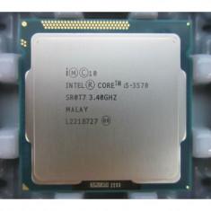 Procesor Intel Core i5 3570 3.4GHz 4 Cores 4 Threads 6 mb HD 2500 - Procesor PC Intel, Numar nuclee: 4, Peste 3.0 GHz, Socket: 1155