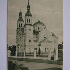 Carte postala Timisoara, Biserica romana - necirculata anul tiparirii 1925, Printata