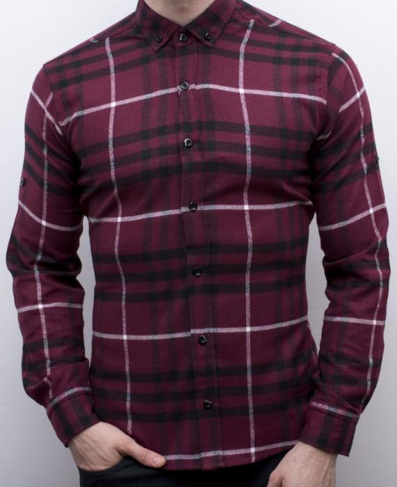 Camasa barbat - camasa slim fit camasa fashion camasa eleganta cod 158