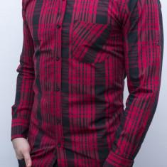 Camasa lunga - camasa slim fit camasa carouri camasa barbat cod 110