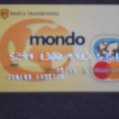 CARD BANCAR MONDO, MASTER CARD - BANCA TRANSILVANIA .
