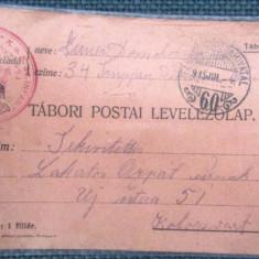 CARTE POSTALA MILITARA WW1 1915 ( World War I 1914-1918) Feldpost K.u.K. - Carte postala tematica, Circulata, Printata