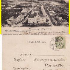 Salutari din Maramures( Sighet ) -clasica, rara - Carte Postala Maramures pana la 1904, Circulata, Printata