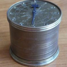 Primul ceas din lume , 1590 ; Replica identica germana in tiraj limitat , 1971