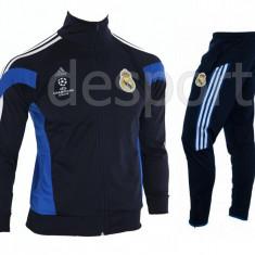 Trening REAL MADRID - Bluza si pantaloni conici - Modele noi - Pret Special 1221 - Trening barbati, Marime: S, M, L, XL, XXL, Culoare: Din imagine