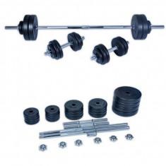 Set gantere Spartan 50 kg PVC, Greutate (kg): Peste 40