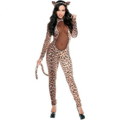 Costum sexy leopard foto