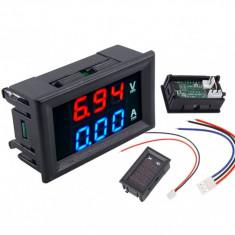 Voltampermetru Digital Voltmetru Ampermetru 0-100V 0-10A