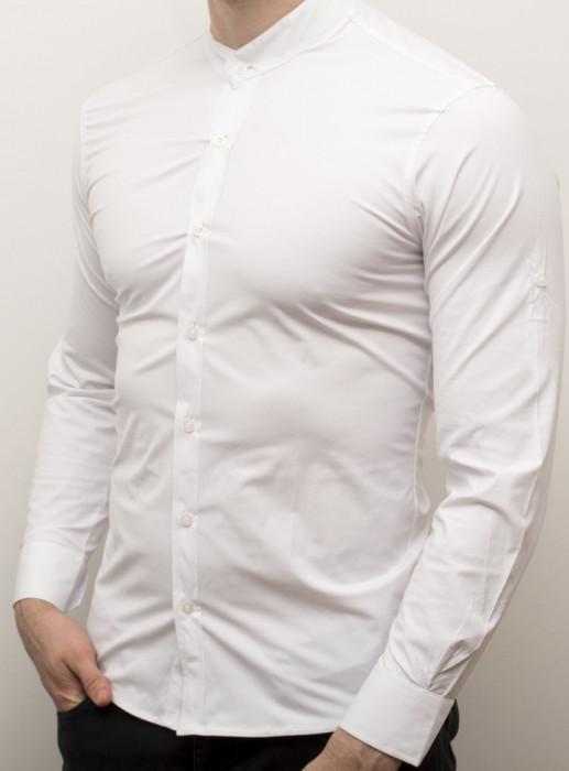 Camasa barbat - camasa tunica camasa slim camasa alba LICHIDARE DE STOC cod 141