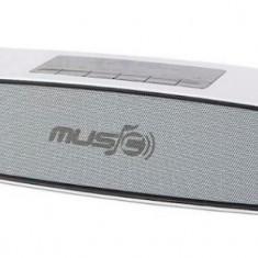 Boxa Bluetooth - wireless 6 W, 2 difuzoare, micro SD, USB, radio ALBA